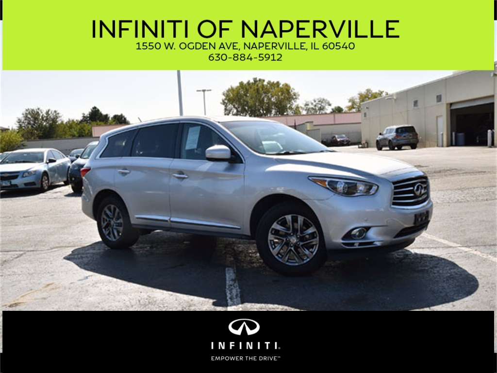 Pre-Owned 2013 INFINITI JX35 AWD