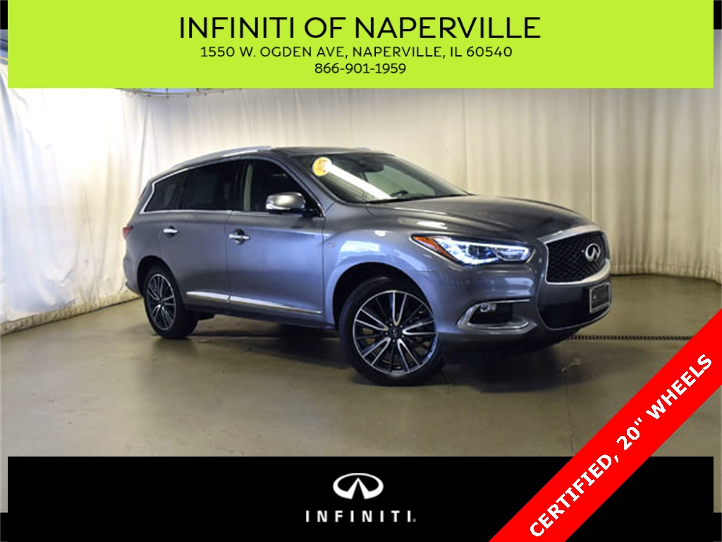 Certified Pre-Owned 2018 INFINITI QX60 PREM-PREM PLUS
