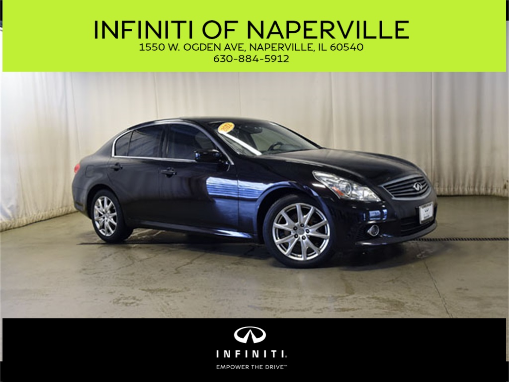 Pre-Owned 2012 INFINITI G37 X Sport Appearance Edition