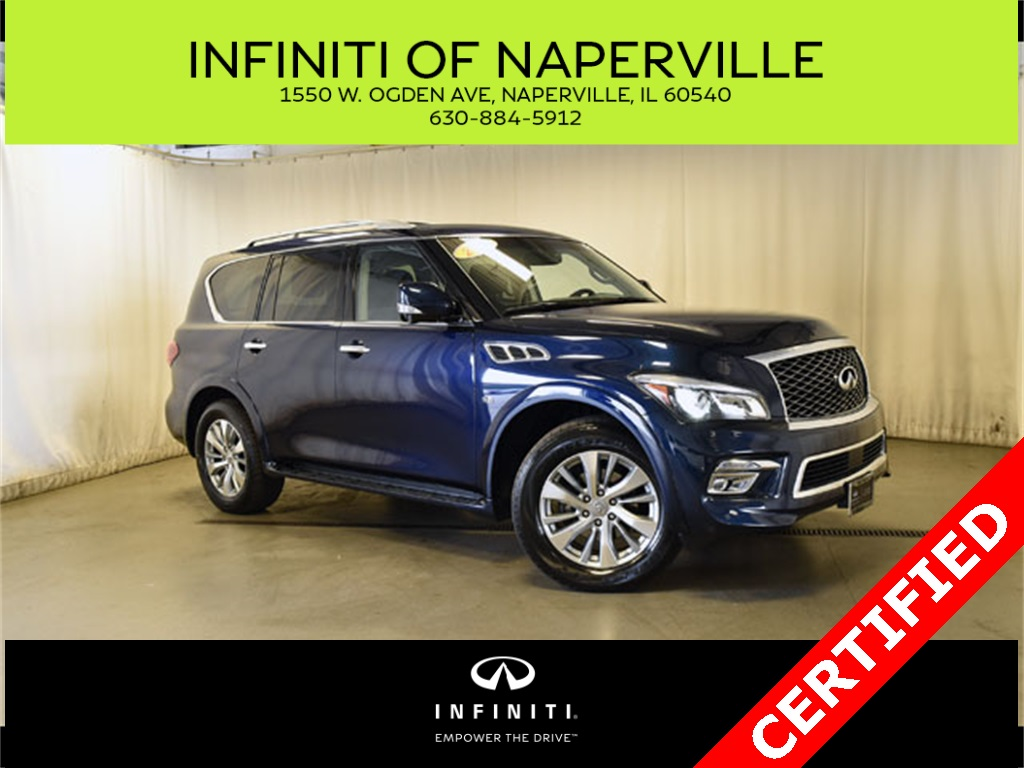 Certified Pre-Owned 2016 INFINITI QX80 AWD