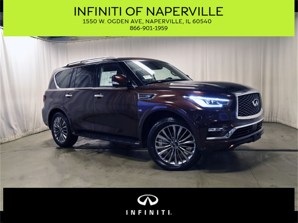 New 2019 Infiniti Qx80 Luxe 4wd Suv In Naperville X190384