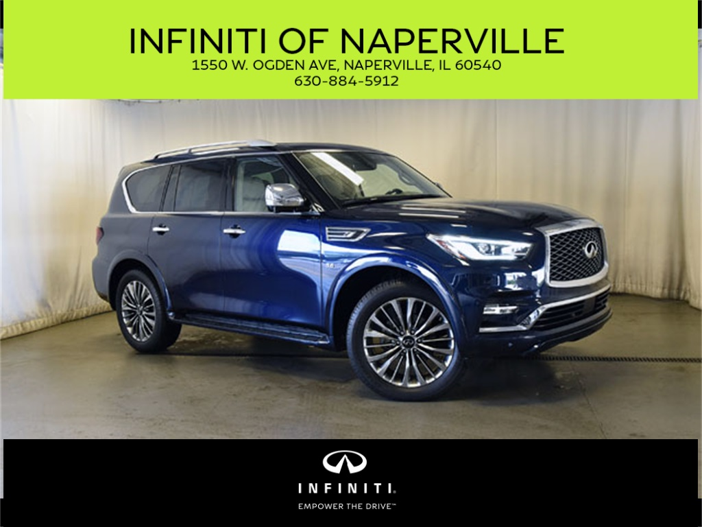 Certified Pre-Owned 2018 INFINITI QX80 TECH PKG