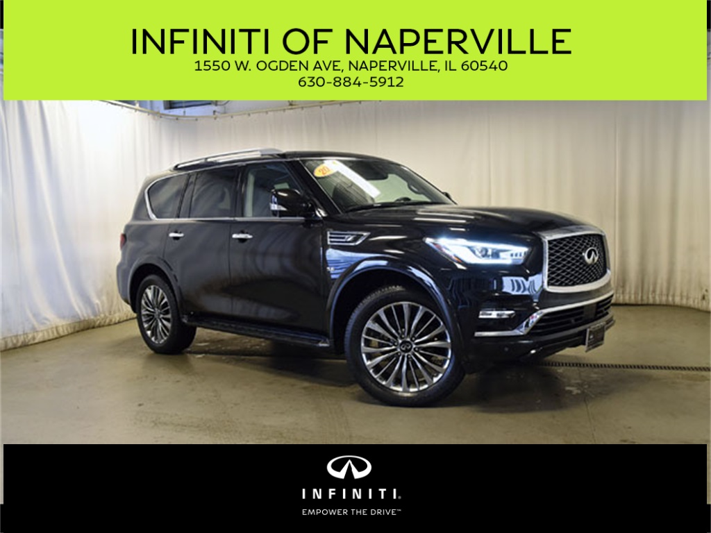 Certified Pre-Owned 2018 INFINITI QX80 DRIVER ASSIST