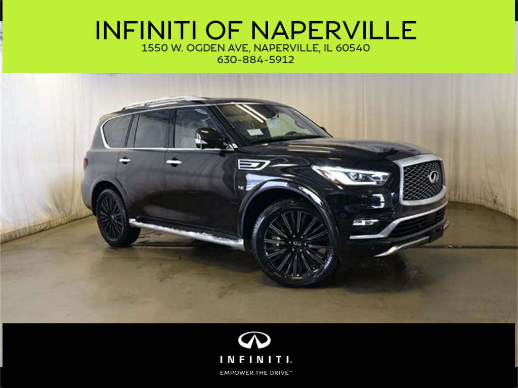 New 2019 Infiniti Qx80 Limited 4wd Suv In Naperville X190453