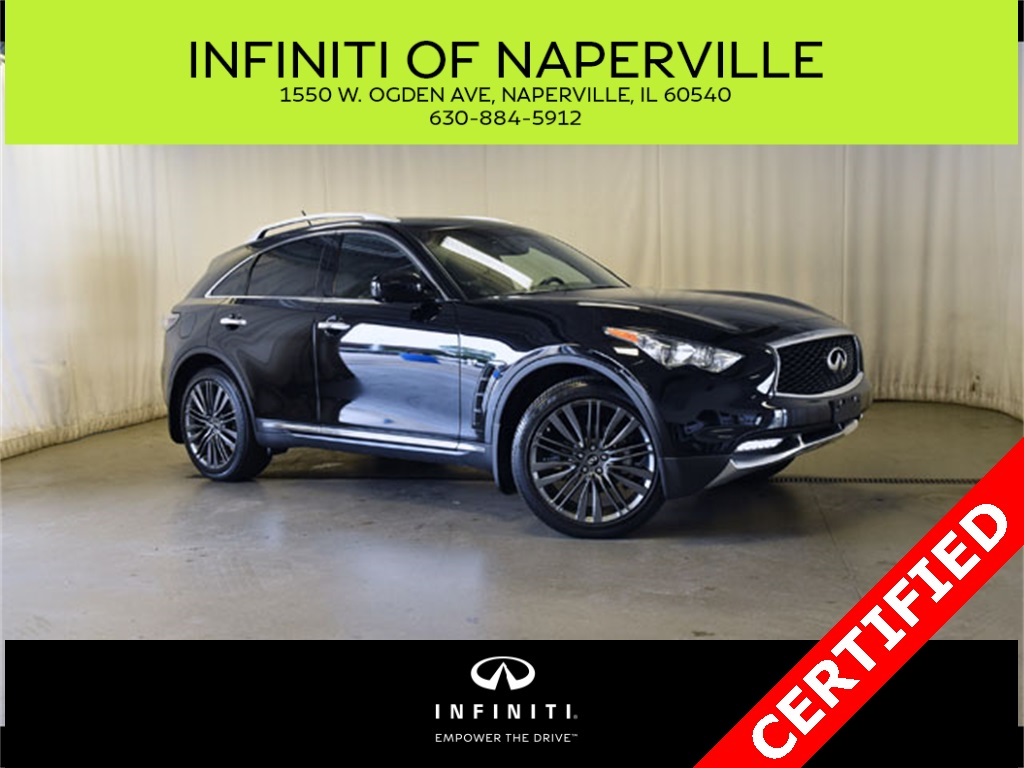 Certified Pre-Owned 2017 INFINITI QX70 Limited