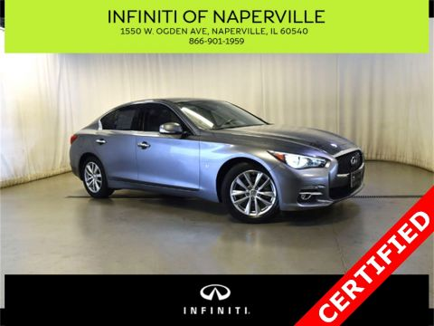 Certified Pre-Owned 2015 INFINITI Q50 AWD