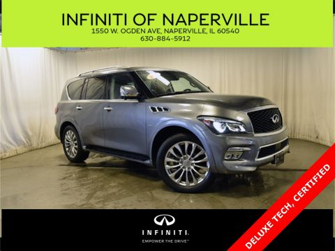Certified Pre-Owned 2017 INFINITI QX80 TECH PKG