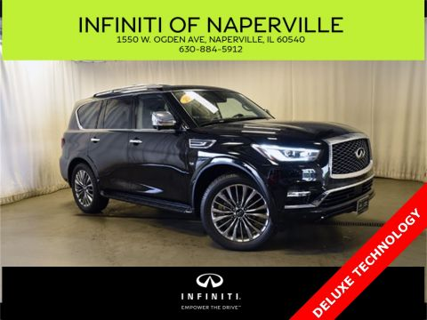 Certified Pre-Owned 2018 INFINITI QX80 TECH