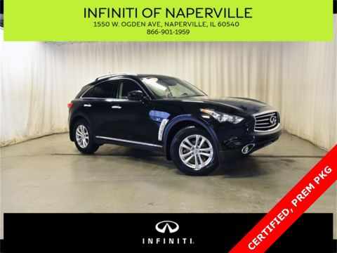 Certified Pre-Owned 2015 INFINITI QX70 Premium Package